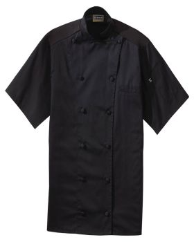 Edwards 3331 12 Button Short Sleeve With Mesh Chef Coat