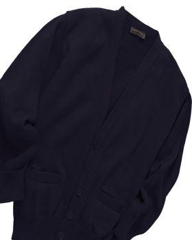 Edwards 350 V Neck Button Acrylic Cardigan 2 Pockets Sweater