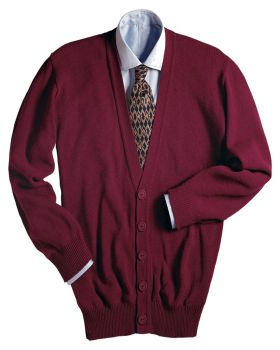 Edwards 351 V-Neck Button Acrylic Cardigan Sweater