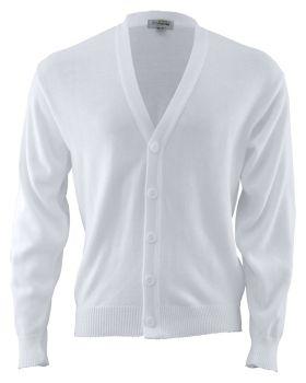 Edwards 351 V-Neck Button Acrylic Cardigan Sweater