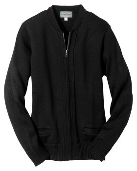 Edwards 372 Full-Zip Heavyweight Acrylic Sweater