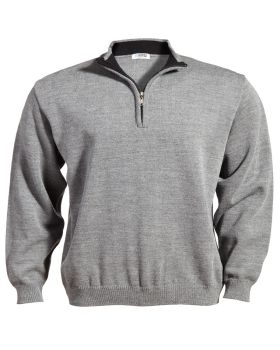 Edwards 4012 Quarter-Zip Acrylic Sweater