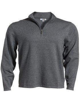 Edwards 4072 Quarter Zip Fine Gauge Sweater
