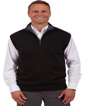 Edwards 4074 Quarter Zip Fine Gauge Sweater Vest