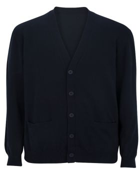Edwards 4080 V-Neck Cotton Blend Cardigan-2pockets