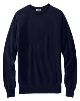 Edwards 4086 Crew Neck Cotton Blend Sweater