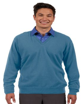 Edwards 4090 V-Neck Cotton Blend Sweater