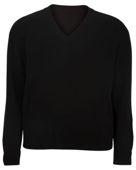 Edwards 4700 V-Neck Cotton Sweater