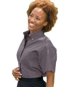 Edwards 5027 Ladies Short Sleeve Oxford Shirt