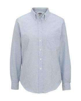 Edwards 5077 Ladies' Long Sleeve Oxford Shirt