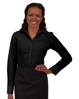Edwards 5293 Ladies' Batiste Long Sleeve Blouse