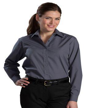 Edwards 5363 Ladies Long Sleeve Value Broadcloth Shirt