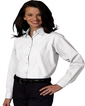 Edwards 5363 Ladies Long Sleeve Value Broadcloth Shirt
