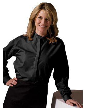 Edwards 5396 Ladies Banded Collar Shirt
