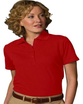 Edwards 5500 Ladies Blended Pique Short Sleeve Polo Shirts