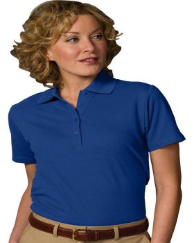 Edwards 5500 Ladies' Blended Pique Short Sleeve Polo