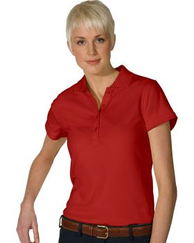 Edwards 5576 Ladies Hi Performance Mesh Short Sleeve Polo Shirts