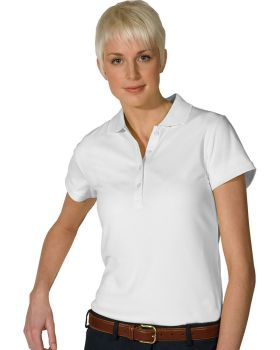 Edwards 5576 Ladies' Hi-Performance Mesh Short Sleeve Polo