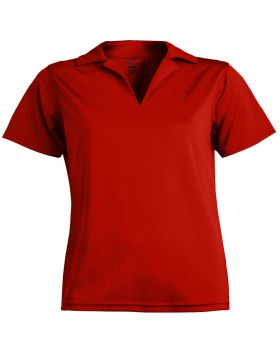 Edwards 5580 Ladies' Performance Flat-Knit Short Sleeve Polo