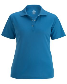 Edwards 5586 Ladies' Snap Front Hi-Performance Short Sleeve Polo