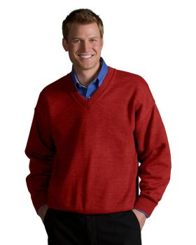 Edwards 565 V-Neck Acrylic Sweater