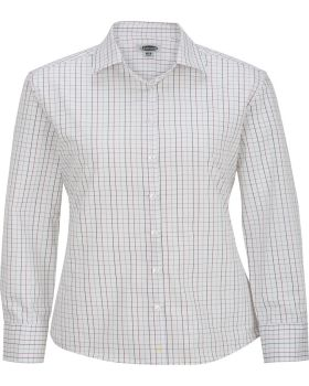 Edwards 5973 Women's Long Sleeve Patterned Dress Shirt