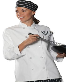 Edwards 6301 Ladies' 10 Button Long Sleeve Chef Coat