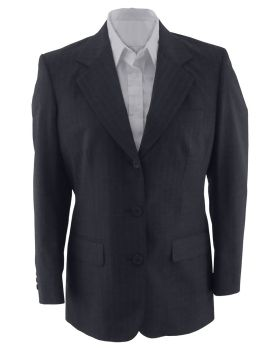 Edwards 6660 Ladies' Pinstripe Wool Blend Suit Coat