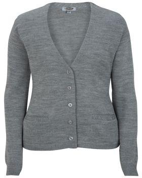 Edwards 7045 Ladies' V-Neck Cardigan Sweater-Tuff-Pil Plus
