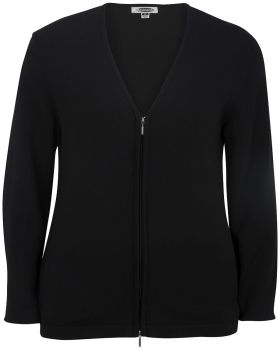 Edwards 7062 Ladies' Full Zip V-Neck Cardigan Sweater