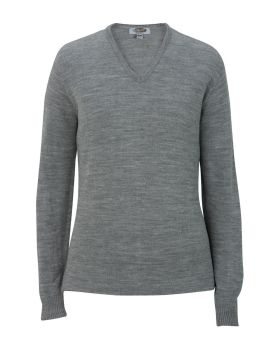 Edwards 7065 Ladies' V-Neck Sweater-Tuff-Pil Plus