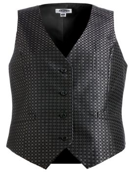 Edwards 7396 Ladies' Grid Brocade Vest