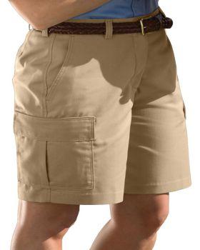 Edwards 8473 Ladies' Blended Cargo Chino Short