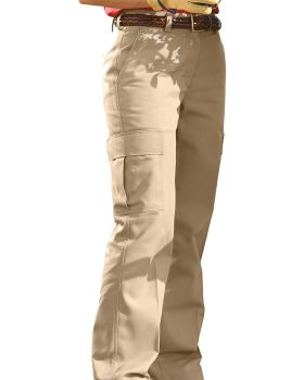 Edwards 8573 Ladies' Blended Chino Cargo Pant