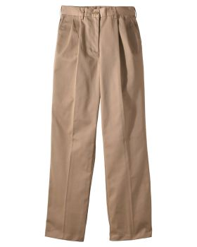 Edwards 8667 Ladies' Utility Pleated Front Chino Pant