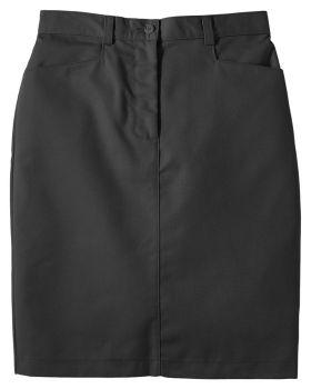 Edwards 9711 Ladies Blended Chino Medium Length Skirt