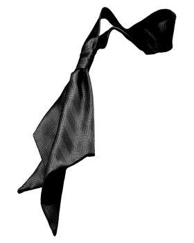 'Edwards HB60 Herringbone Neckerchief'