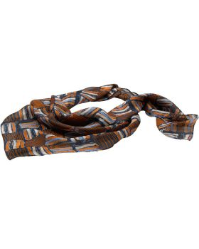 Edwards SC53 Checkerboard Chiffon Scarf