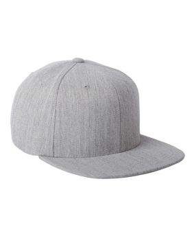 Flexfit 110F Adult Wool Blend Snapback Cap