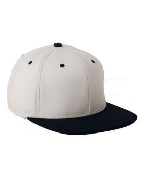 Flexfit 110FT Adult Wool Blend Snapback Two-Tone Cap