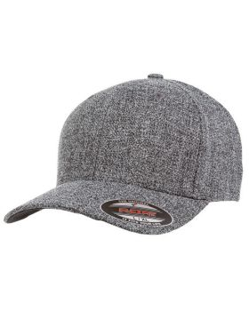'Flexfit 6355 Adult Poly Melange Heather Stretch Cap'