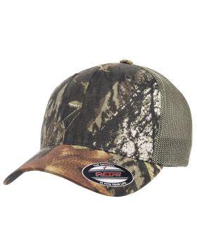 Flexfit 6911 | Buy Adult Mossy Oak Stretch Mesh Cap - VeeTrends.com