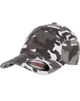 Flexfit 6977CA Adult Cotton Camouflage Cap