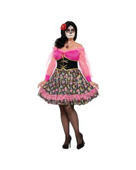 Forum FM76072 Day Of The Dead Lady Plus