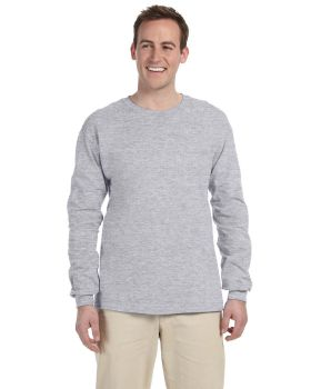Fruit of the Loom 4930 Adult HD Cotton Long-Sleeve T-Shirt