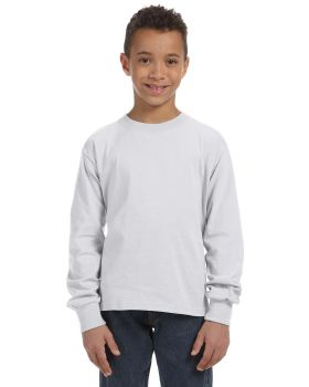 'Fruit of the Loom 4930B Youth HD Cotton Long-Sleeve T-Shirt'