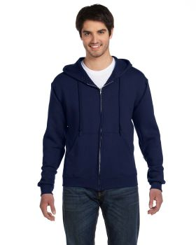 Fruit of the Loom 82230 Adult Supercotton Full-Zip Hood