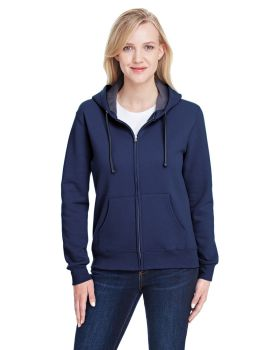 Fruit of the Loom LSF73R Ladies' Sofspun Full-Zip Hooded Sweatshirt
