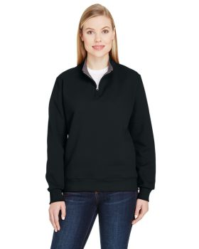 Fruit of the Loom LSF95R Ladies' Sofspun Quarter-Zip Sweatshirt