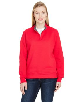Fruit of the Loom LSF95R Ladies' Sofspun Quarter-Zip Sweatshirt